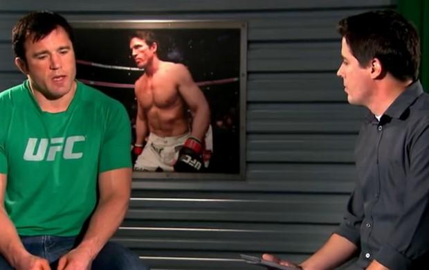"""Chael Sonnen, durante entrevista para o """"Sensei SporTV"""" (Foto: Reprodução / SporTV)"""