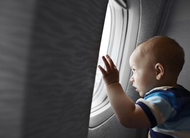 A primeira viagem do bebê