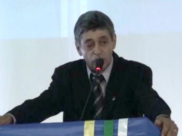 Ex-vereador foi assassinado dentro de casa em Colniza (Foto: Divulgação/Câmara de Colniza)