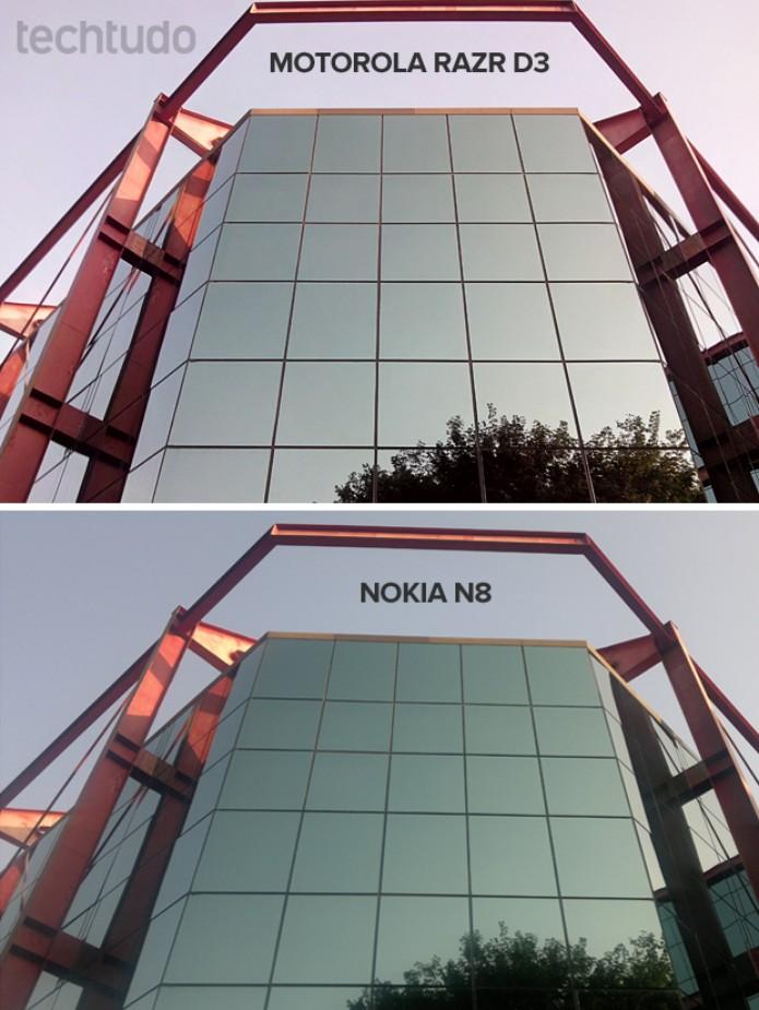 Razr D3 contra Nokia N8: comparativo de fotos (Foto: Elson de Souza/TechTudo)