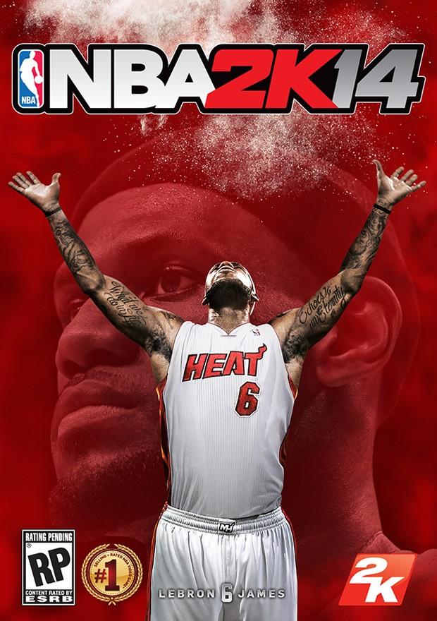 lebron james video-game basquete nba (Foto: Reprodução)