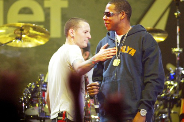 Jay-Z e Chester Bennington (Foto: Getty Images)