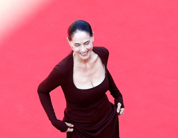 Sonia Braga em Cannes (Foto: Getty Images)