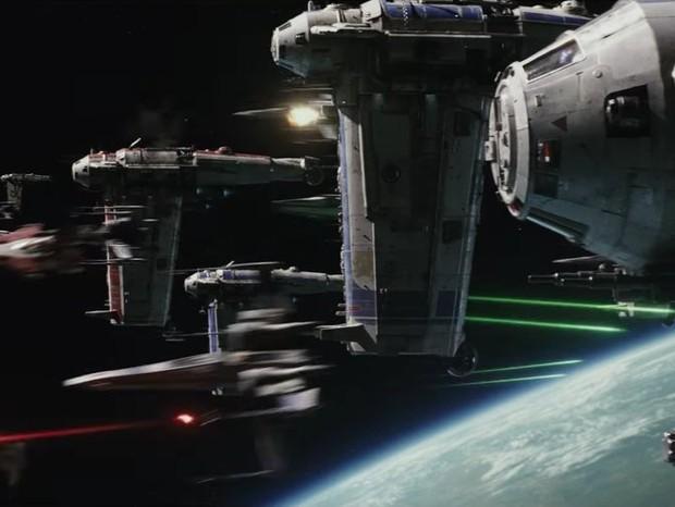 """Trailer de """"Star Wars - Os últimos Jedi""""  (Foto: reprodução )"""