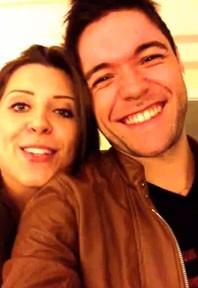 Ex-BBBs Andressa e Nasser em hotel no Rio (Foto: Reprodução)