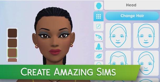 The Sims versão mobile (Foto: Reprodução Youtube)