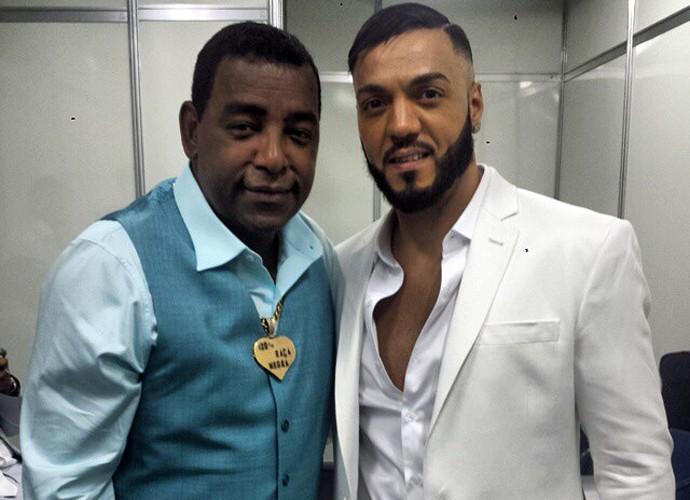 Belo conta que o cantor Luiz Carlos, do Raça Negra, o ajudou no começo da carreira (Foto: Arquivo pessoal)
