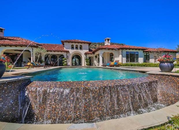 Casa de Britney Spears em Thousand Oaks (Foto: Reprodução)