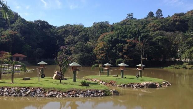 Zoobotânico é u dos locais preferidos do apresentador Marcos Pereira (Foto: Rodrigo D´Acâmpora/Divulgação)