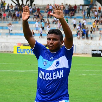 Atacante Waltinho Taubaté (Foto: Bruno Castilho/ Divulgação)
