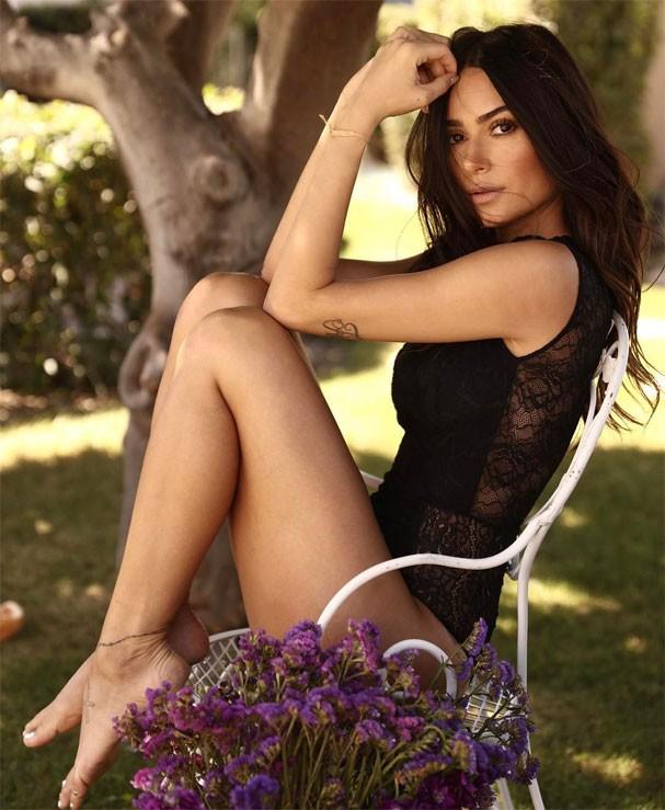 Thaila Ayala em ensaio para uma marca de lingerie (Foto: Reprodução/Instagram)