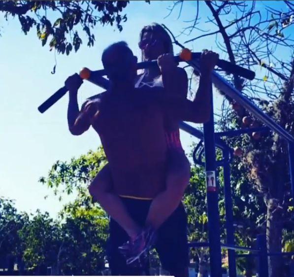 Cristianne Rodriguez e Kadu Moliterno (Foto: Reprodução/Instagram)