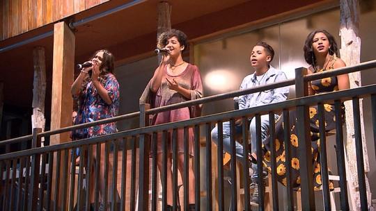 Ex-The Voice Kids baianos se apresentam na Casa do Sol