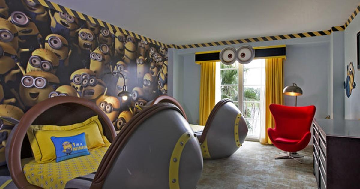 Hotel em Orlando lança suítes temáticas de 'Meu Malvado Favorito'