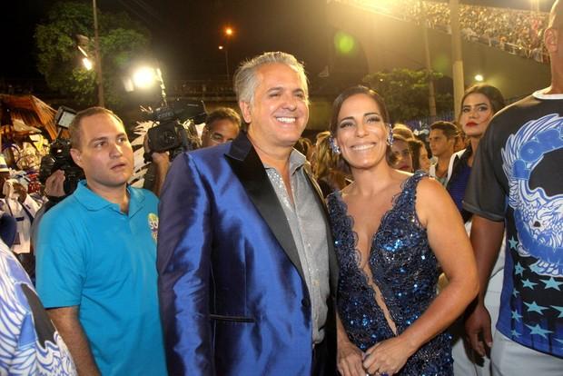 Orlando Morais e Glória Pires (Foto: Claudio Andrade / Foto Rio News)