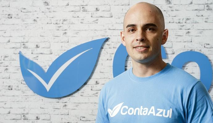 Vinicius Roveda, diretor-executivo da ContaAzul, que oferece sistema de gestão on-line de empresas.