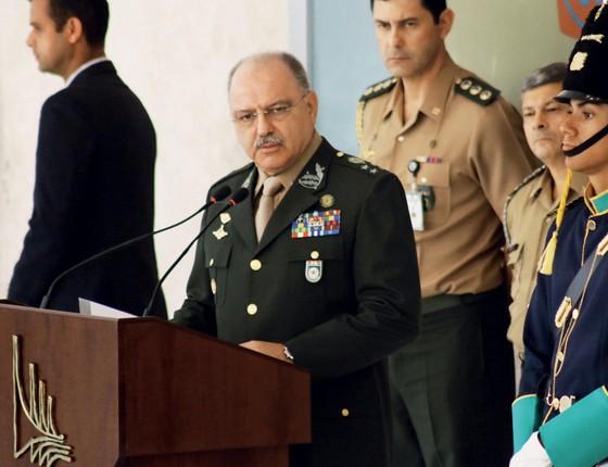 General Sérgio Etchegoyen ministro chefe do GSI (Foto: CHARLES SHOLL/FUTURA PRESS/ESTADÃO CONTEÚDO)