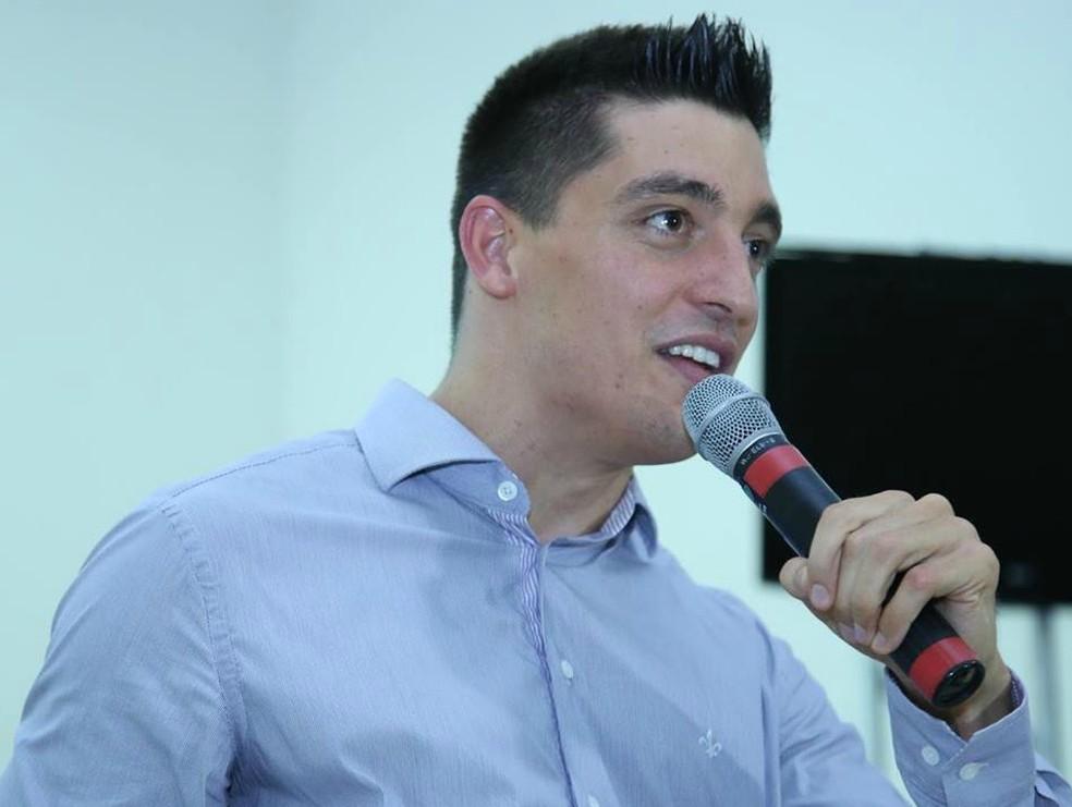 Samuel virou palestrante e espera motivar as pessoas com sua história (Foto: Arquivo pessoal)