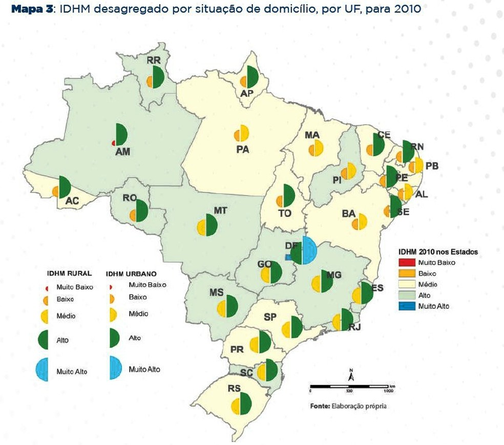IDHM da zona urbana é superior ao da zona rural no Acre, aponta estudo (Foto: Reprodução)