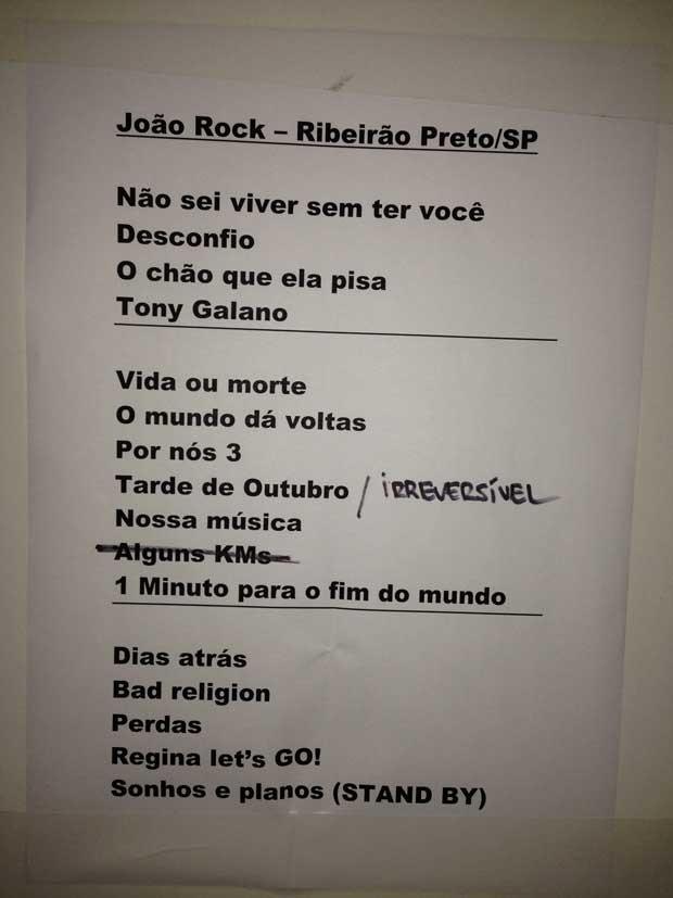 cpm 22 setlist joo rock (Foto: divulgao)