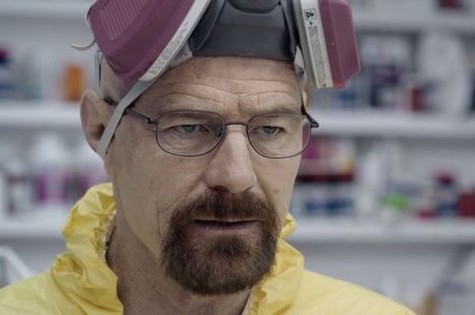 Walter White no comercial  (Foto: Reprodução)