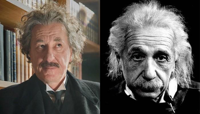 Geoffrey Rush e Albert Einstein (Foto: Divulgação)