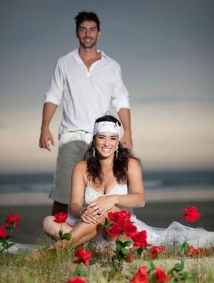 agatha volei de praia casamento (Foto: Roberto Souza/Divulgação)