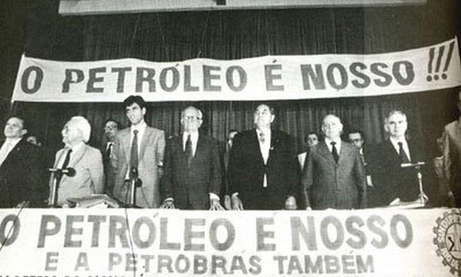 Movimento O petróleo é nosso! nos anos 1940 e início dos 1950 levou à criação da Petrobrás, por Getúlio Vargas, em 1953 (Foto: Divulgação)