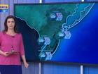 Terça-feira começa com chuva no Litoral Norte e no Sul do RS
