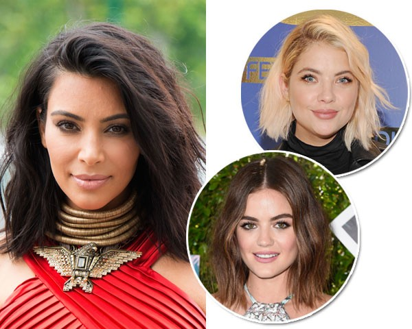 Kim Kardashian, Ashley Benson e Lucy Hale (Foto: Getty Images)