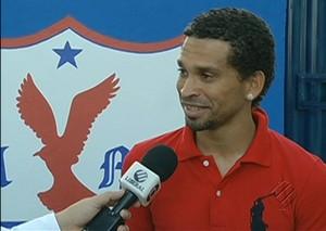 Gilmar é apresentado no Águia (Foto: Reprodução TV Liberal)