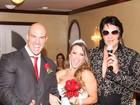 Ex-BBB Michelly se casa em Las Vegas