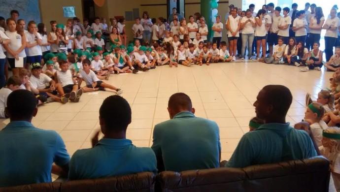 Grupo metropolitano jogadores (Foto: Divulgação / Metropolitano)