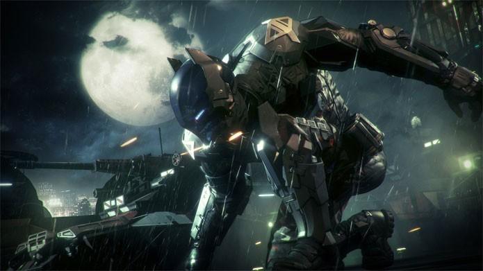 Arkham Knight controla um verdadeiro exército contra o Homem-Morcego (Foto: Divulgação)