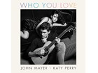 John Mayer e Katy Perry posam juntinhos para capa de novo single