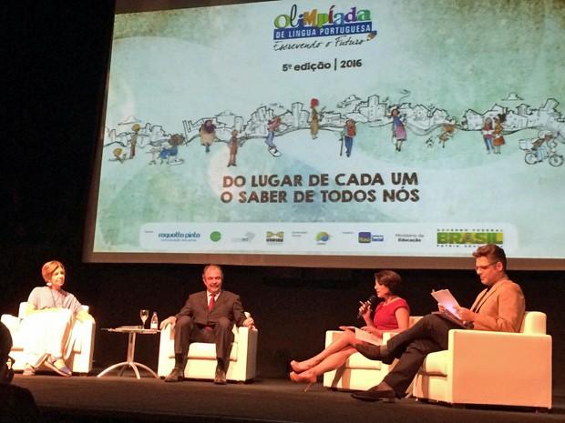 Olimpíada da Língua Portuguesa (Foto: Laura Lewer/G1)