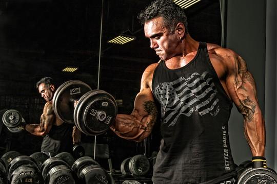 Yuri Diogenes - segundo atleta, a força de vontade está no psicológico  (Foto: Premier Images)