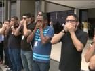 Servidores do Judiciário realizam protesto em São Luís, MA