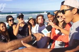 Perguntamos para o público na areia do postinho qual era o surfista preferido. Sabe quem levou esse título? Confira no vídeo.