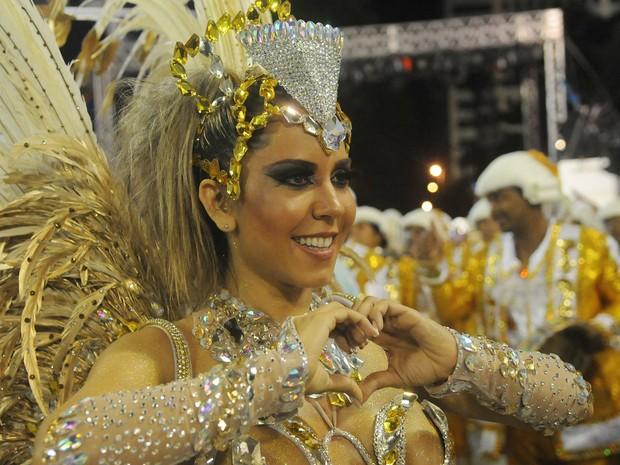 Mulher Melão na Belford Roxo (Foto: Alexandre Durão/G1)