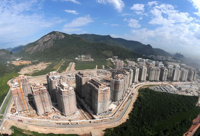 instalações do Vila Olímpica Rio 2016 (Foto: André Durão)