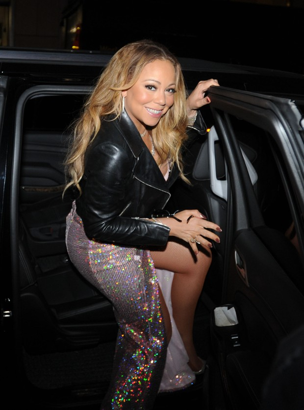 Mariah Carey mostra demais em Nova York, nos Estados Unidos (Foto: Grosby Group/ Agência)