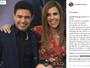 Zezé Di Camargo se derrete por Wanessa: 'Você é meu mundo'
