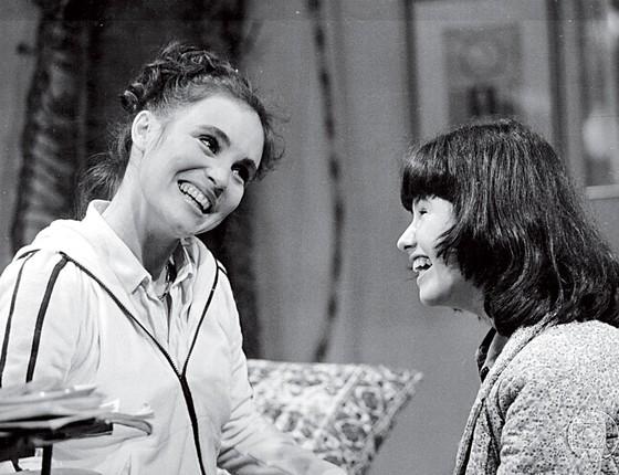 Regina Duarte e Narjara Turetta atrizes (Foto:  Divulgação/TV Globo)