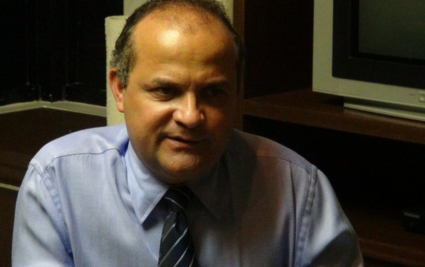 Ricardo Omena, vice-presidente jurídico do CSA (Foto: Paulo Victor Malta / Globoesporte.com)