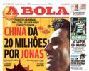 Jornal: clube chinês faz oferta de mais de R$ 80 milhões para contratar Jonas