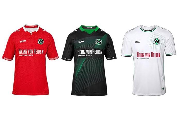 Veja os uniformes de todas as equipes do Campeonato Alemão de 2015 2016 c9d450cd33001