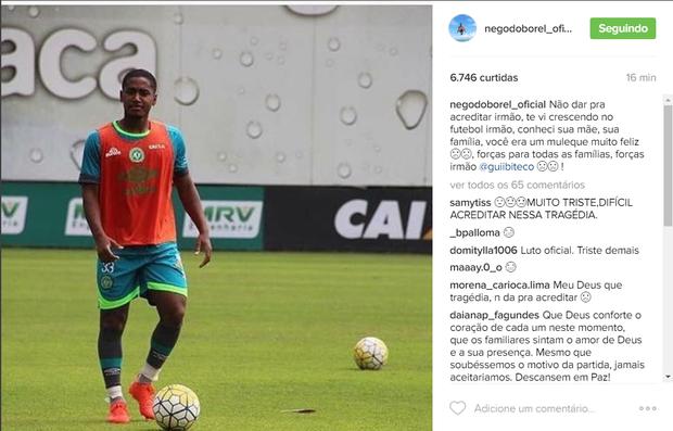 Nego do Borel lamenta morte de amigo (Foto: Reprodução / Instagram)