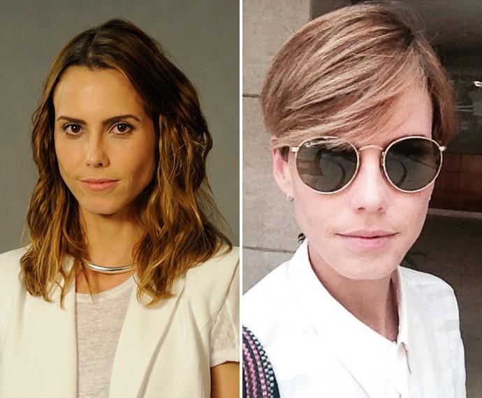 Antes e depois de Lívia de Bueno: Na época de Saramandaia e nos dias de hoje (Foto: Renato Rocha Miranda / TV Globo / Arquivo Pessoal)