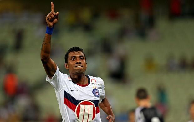 Kléberson gol Bahia (Foto: Ernesto Rodrigues / Ag. Estado)